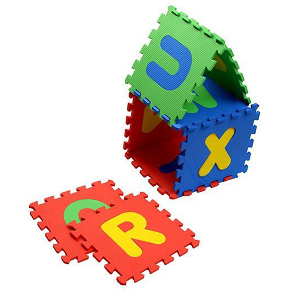 NHR Puzzle Mat With Pop Out Alphabet Pack-3