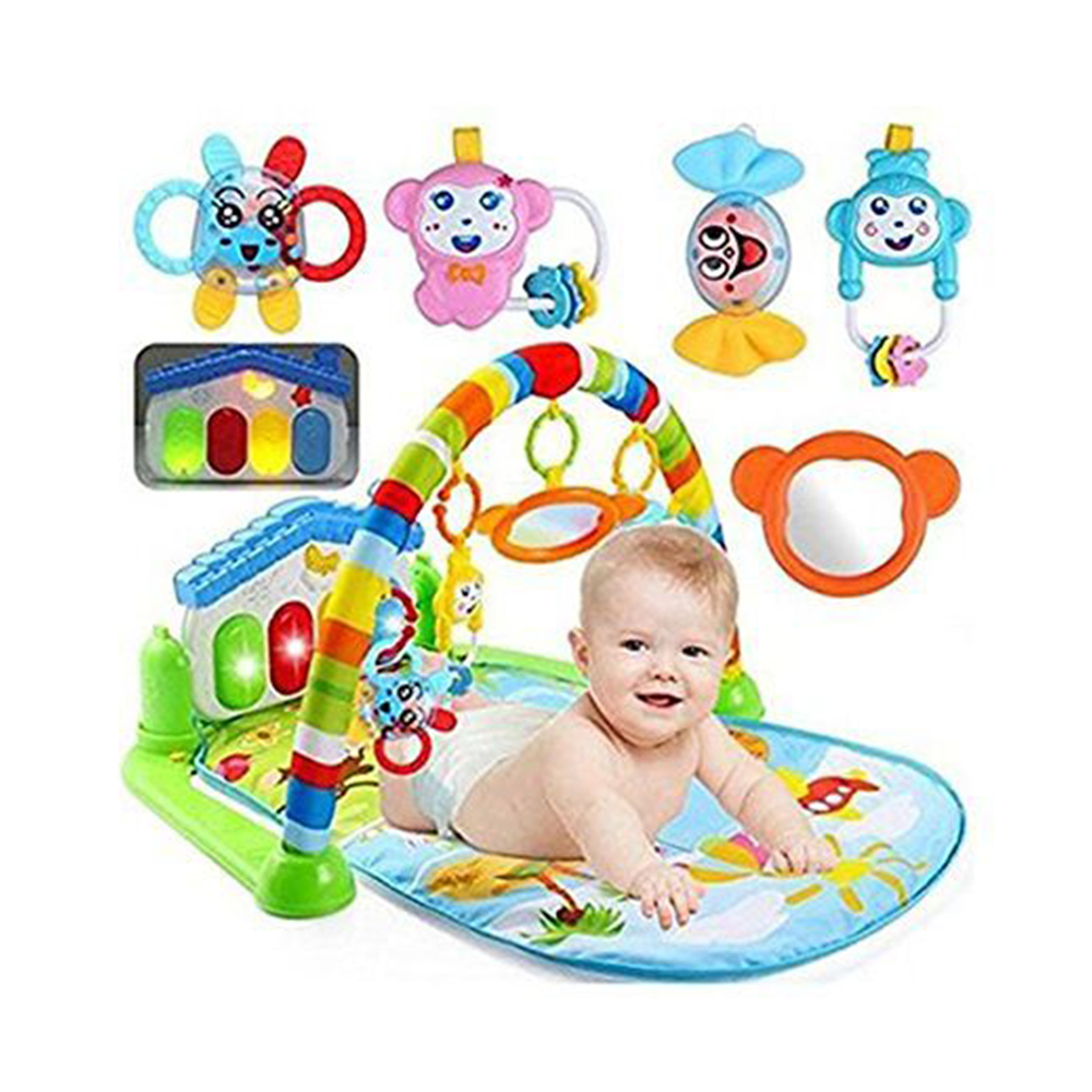 Ole Baby Musical Activity Play Gym Floor Mat-1