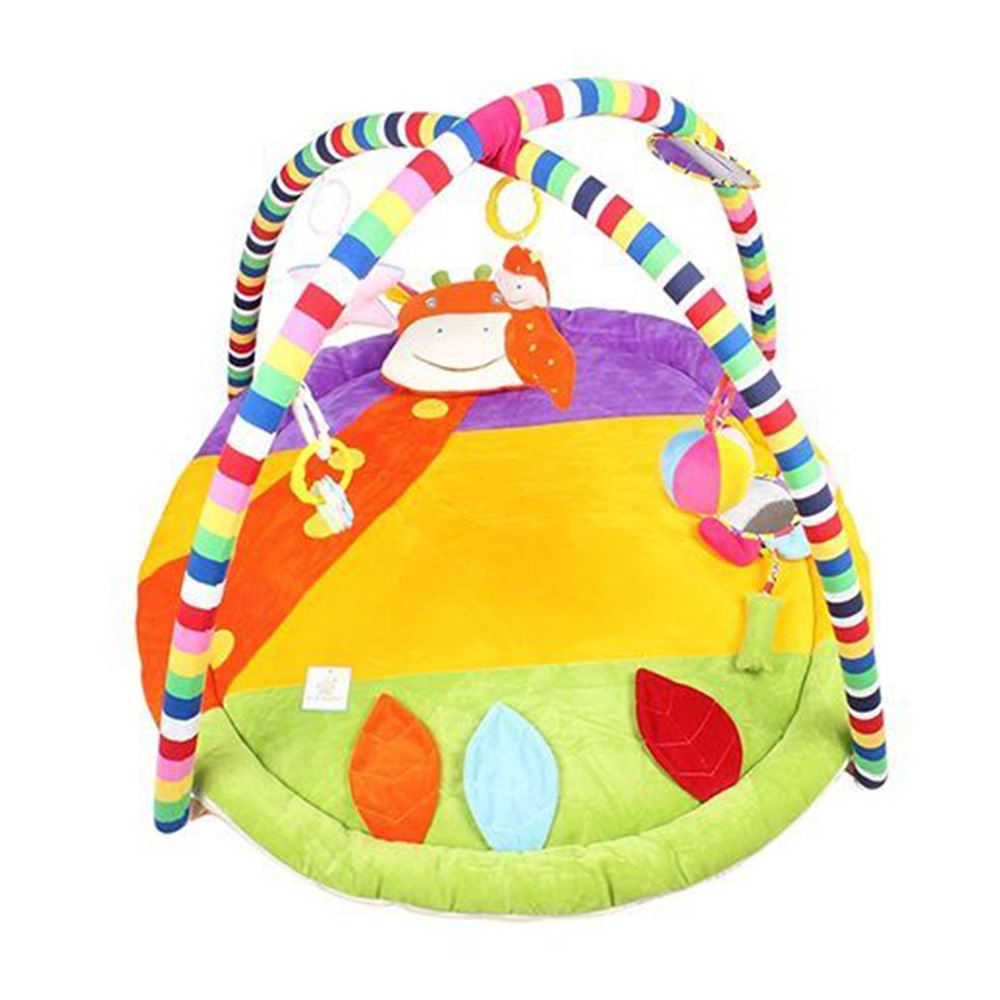Ole Baby Plushy Butterfly Twist And Fold Play Gym-0