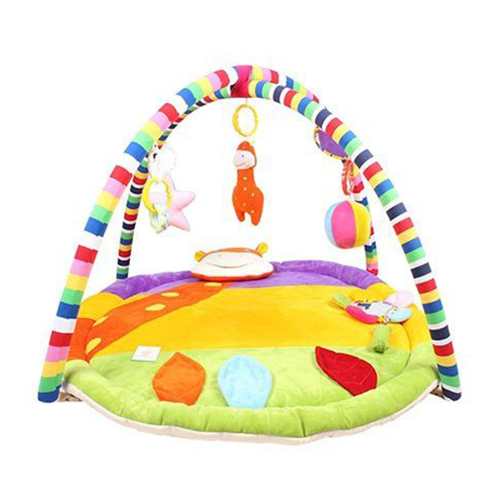 Ole Baby Plushy Butterfly Twist And Fold Play Gym-2