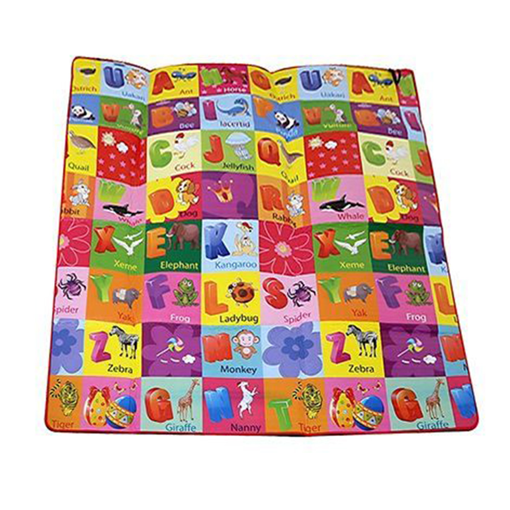 Paramount Anti Skid Double Sided Play Mat Alphabet Print-0