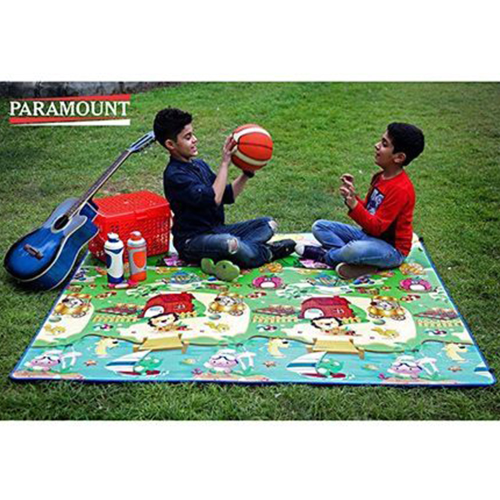 Paramount Anti Skid Double Sided Play Mat Alphabet Print-1