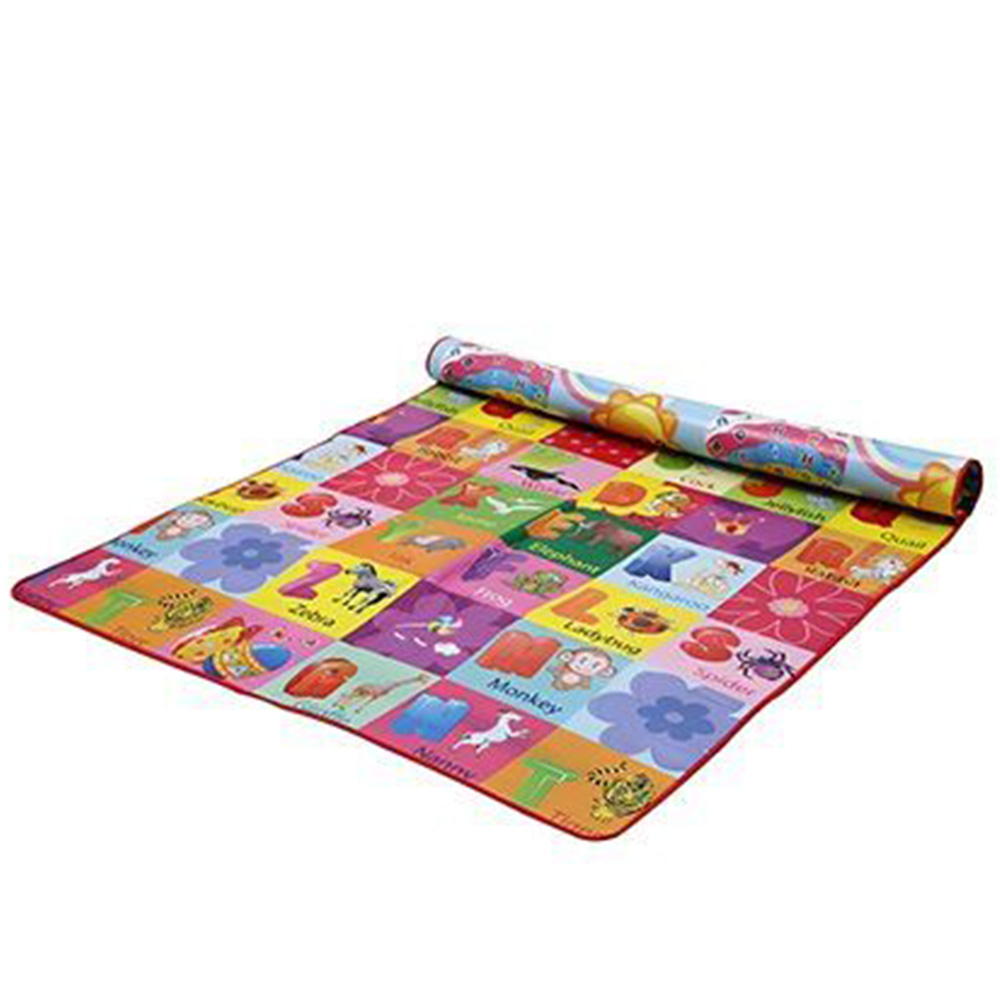 Paramount Anti Skid Double Sided Play Mat Alphabet Print-2