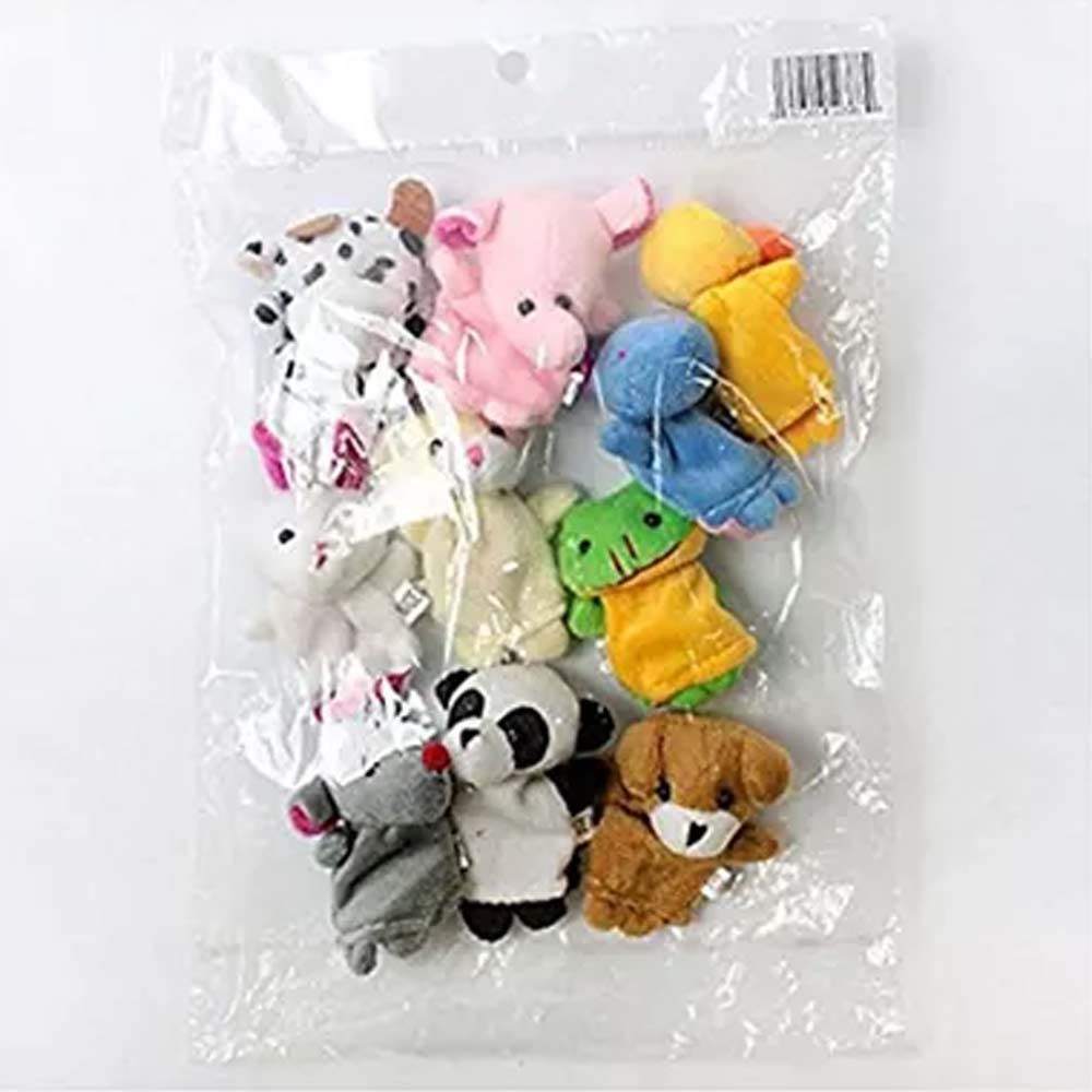 Party Propz Plush Animal Finger Puppets-3