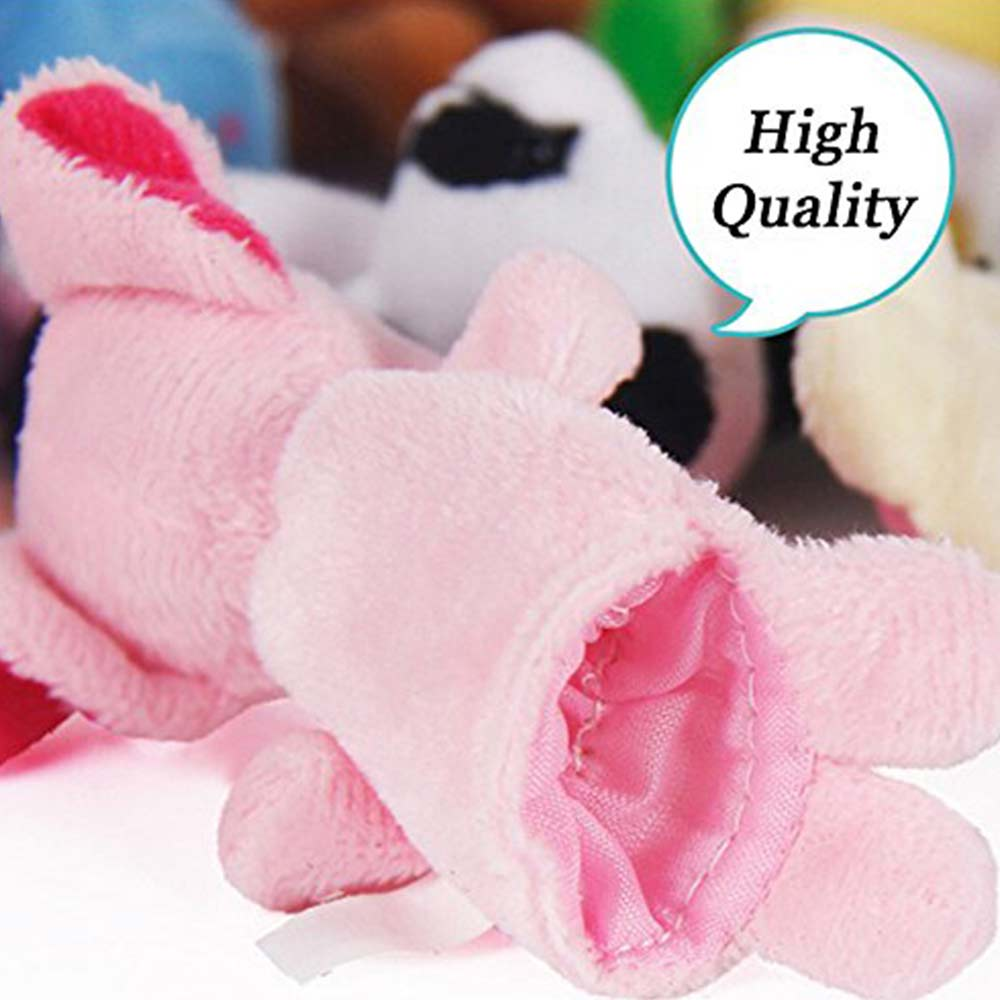 Party Propz Plush Animal Finger Puppets-4