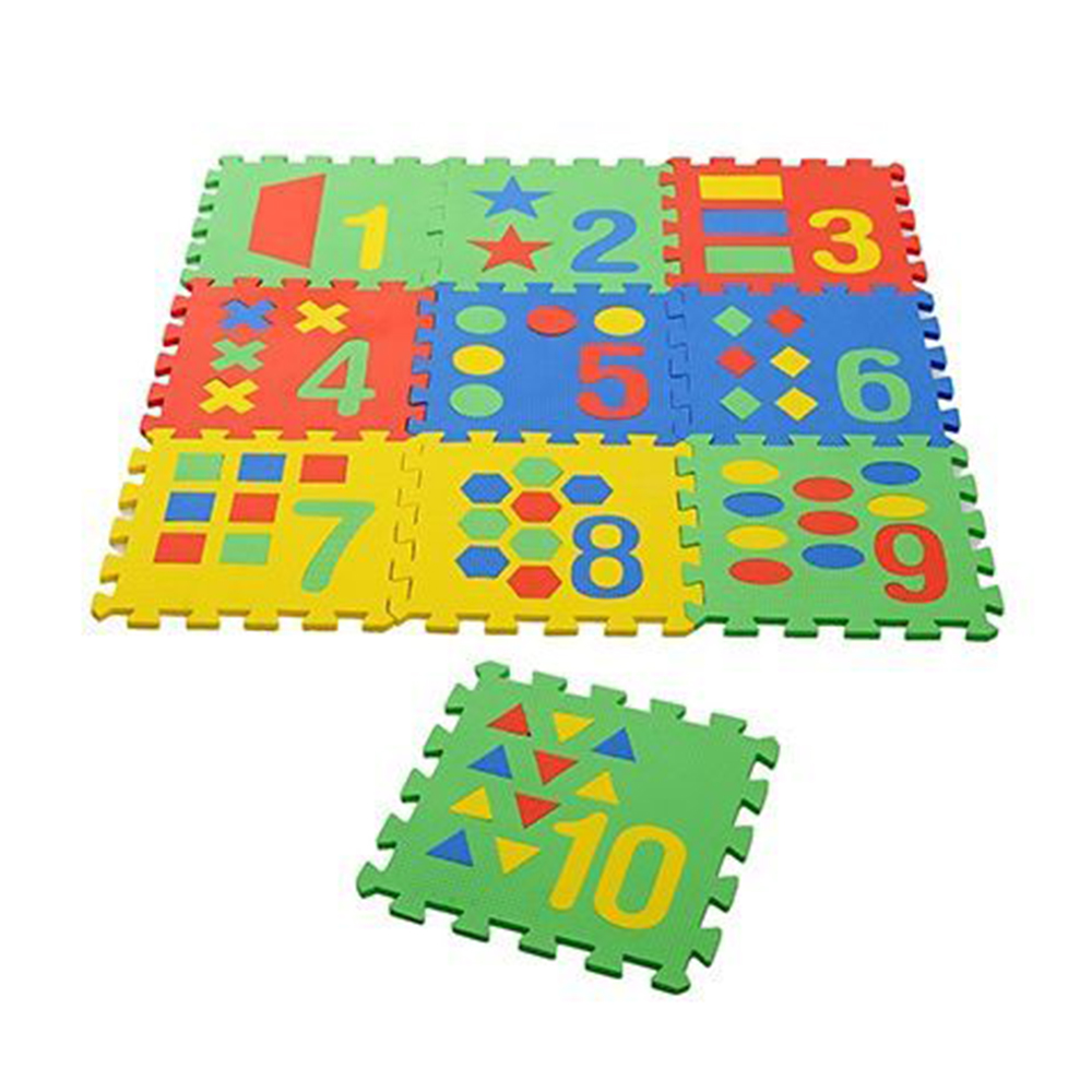 NHR Puzzle Playmat With Pop Out Number Shapes Pack-0