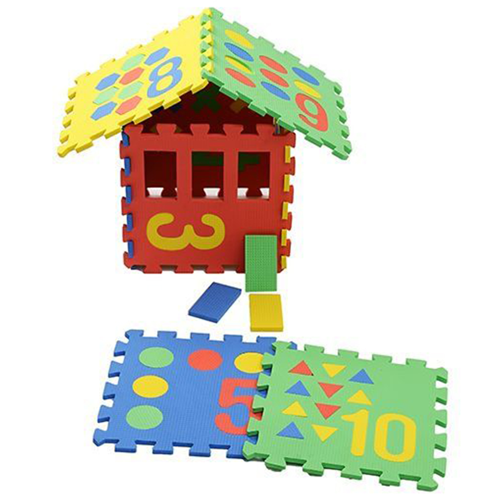 NHR Puzzle Playmat With Pop Out Number Shapes Pack-1