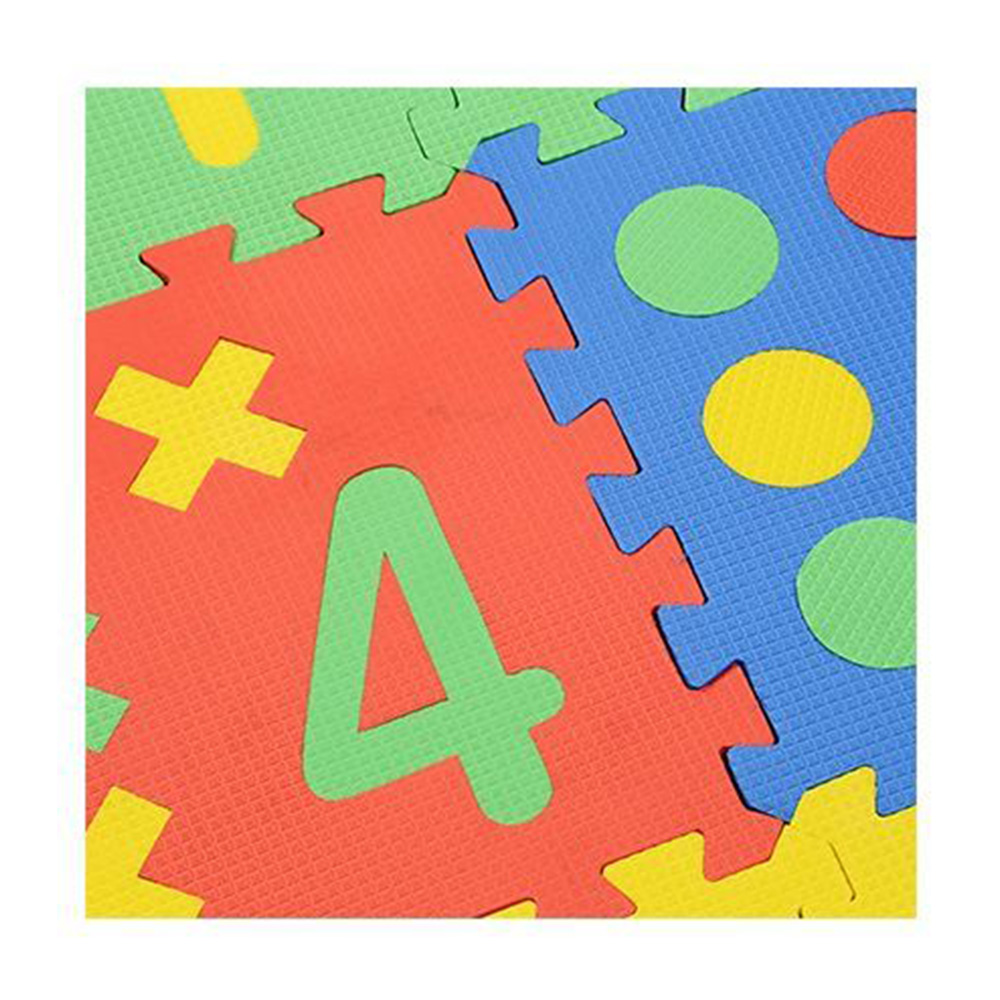 NHR Puzzle Playmat With Pop Out Number Shapes Pack-5