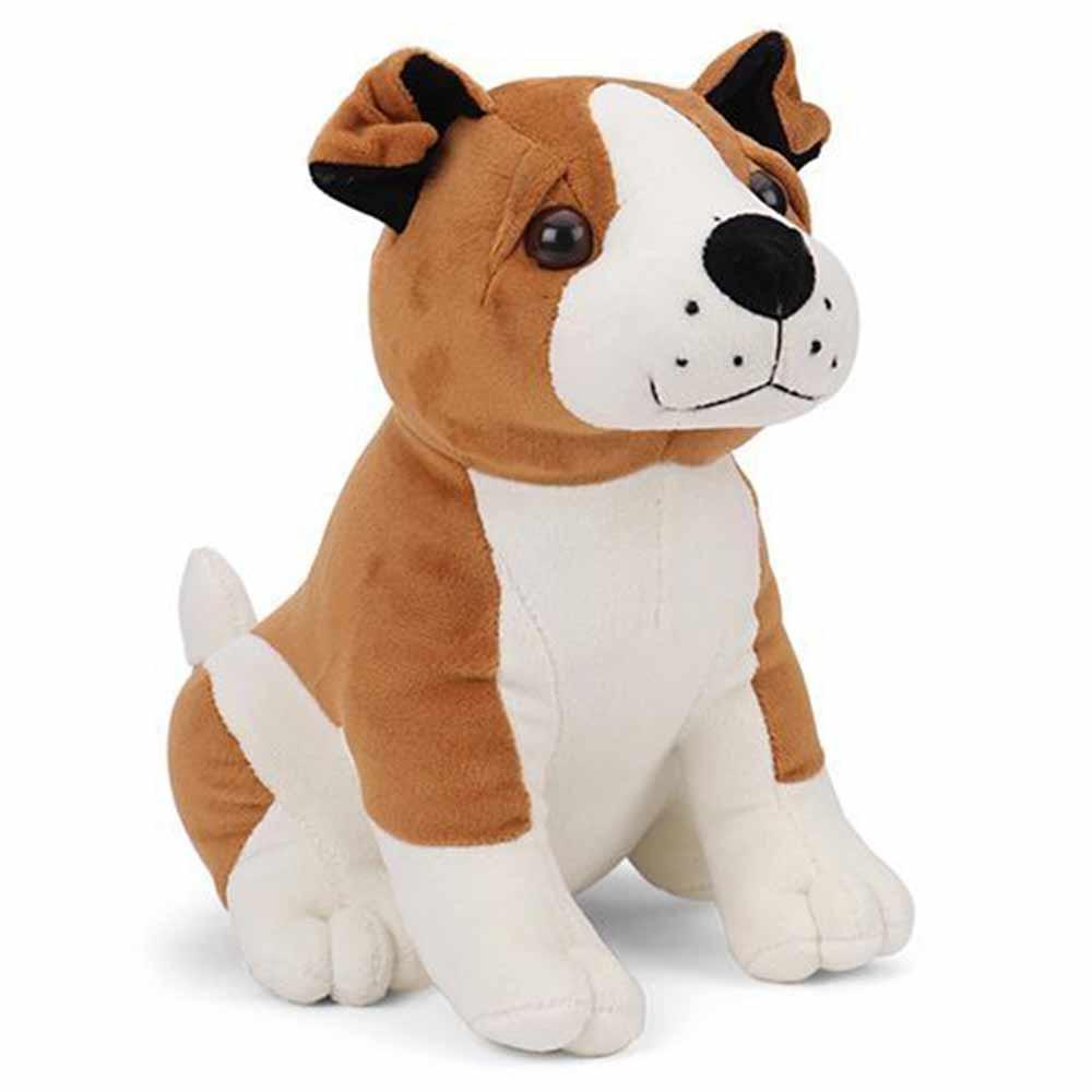 Playtoons Sitting Puppy Soft Toy