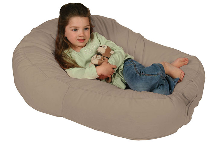Plush Sling-Style Lounger by Leachco