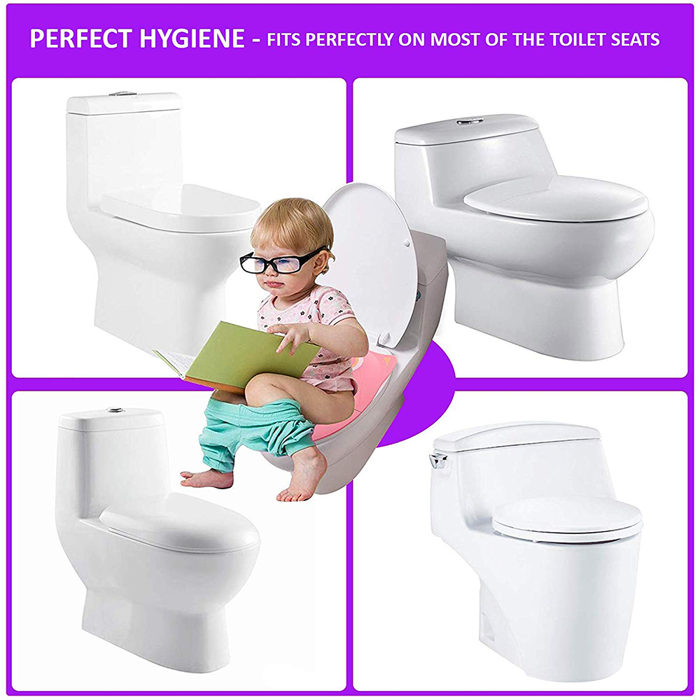 Safe-O-Kid Portable Foldable Potty Seat Best Hygienic Sanitary Toilet Solution for Kids-3