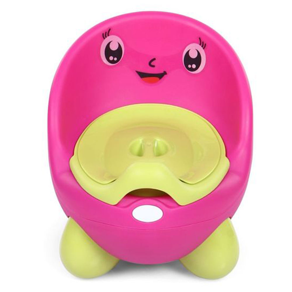 Potty Chair With Lid And High Backrest-0