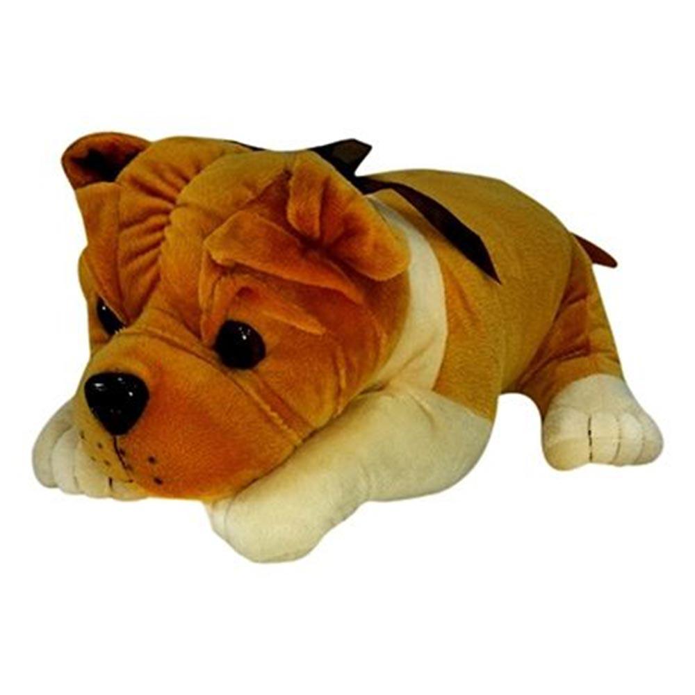 Soft Buddies Lying Bull Dog Soft Toy