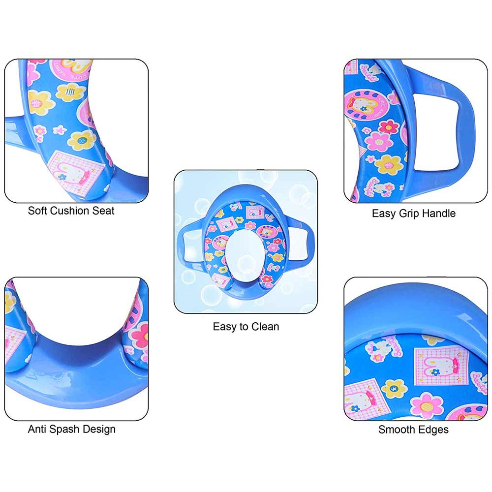 Sunbaby Ultra Soft Potty Seat With Handles-2