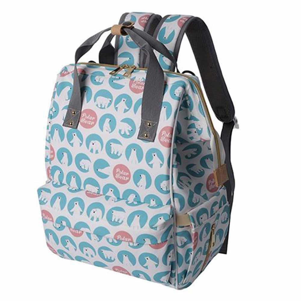 Syga Backpack Style Diaper Bag-0