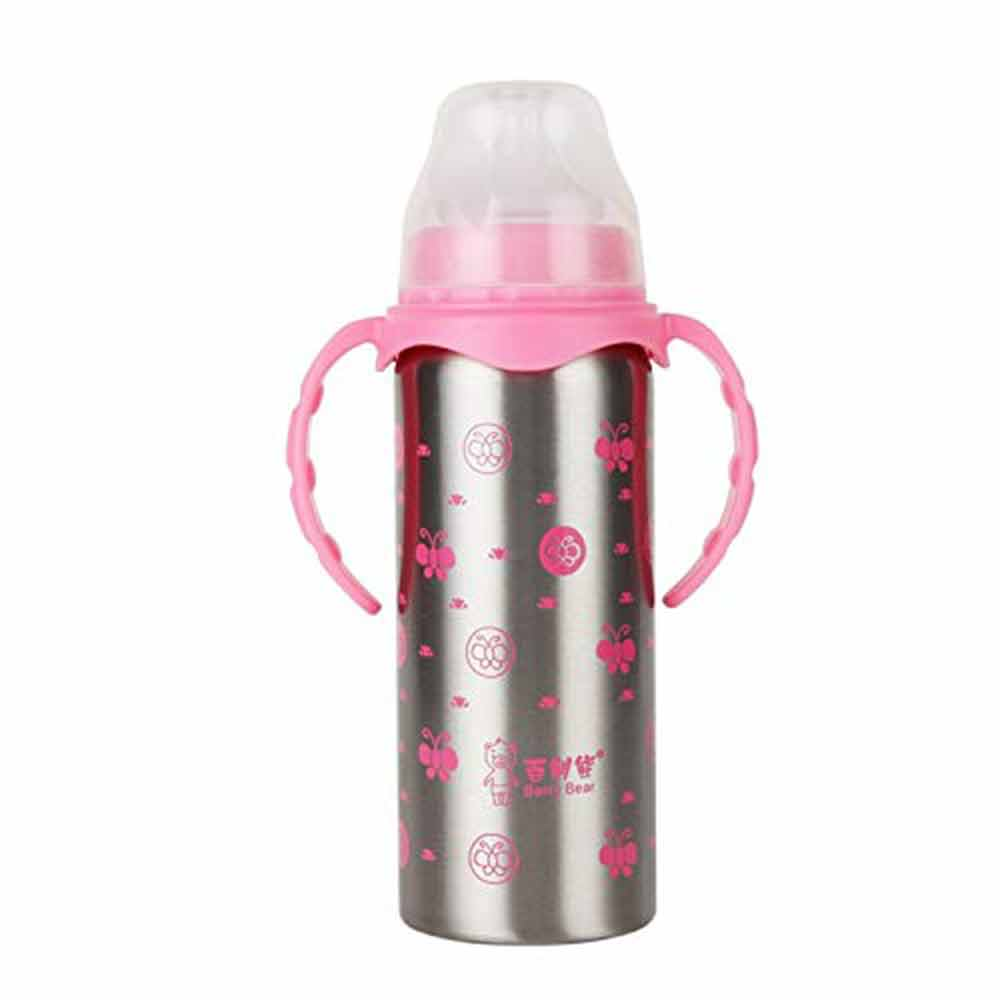 Syga Stainless Steel Insulated Feeding Bottle