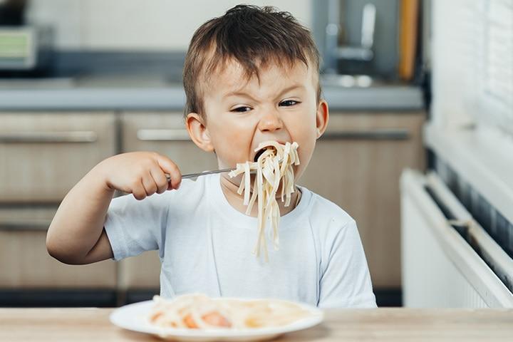 Urging Kids To Eat Fast