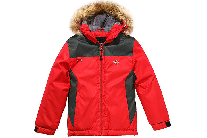 Wantdo Waterproof Ski Jacket