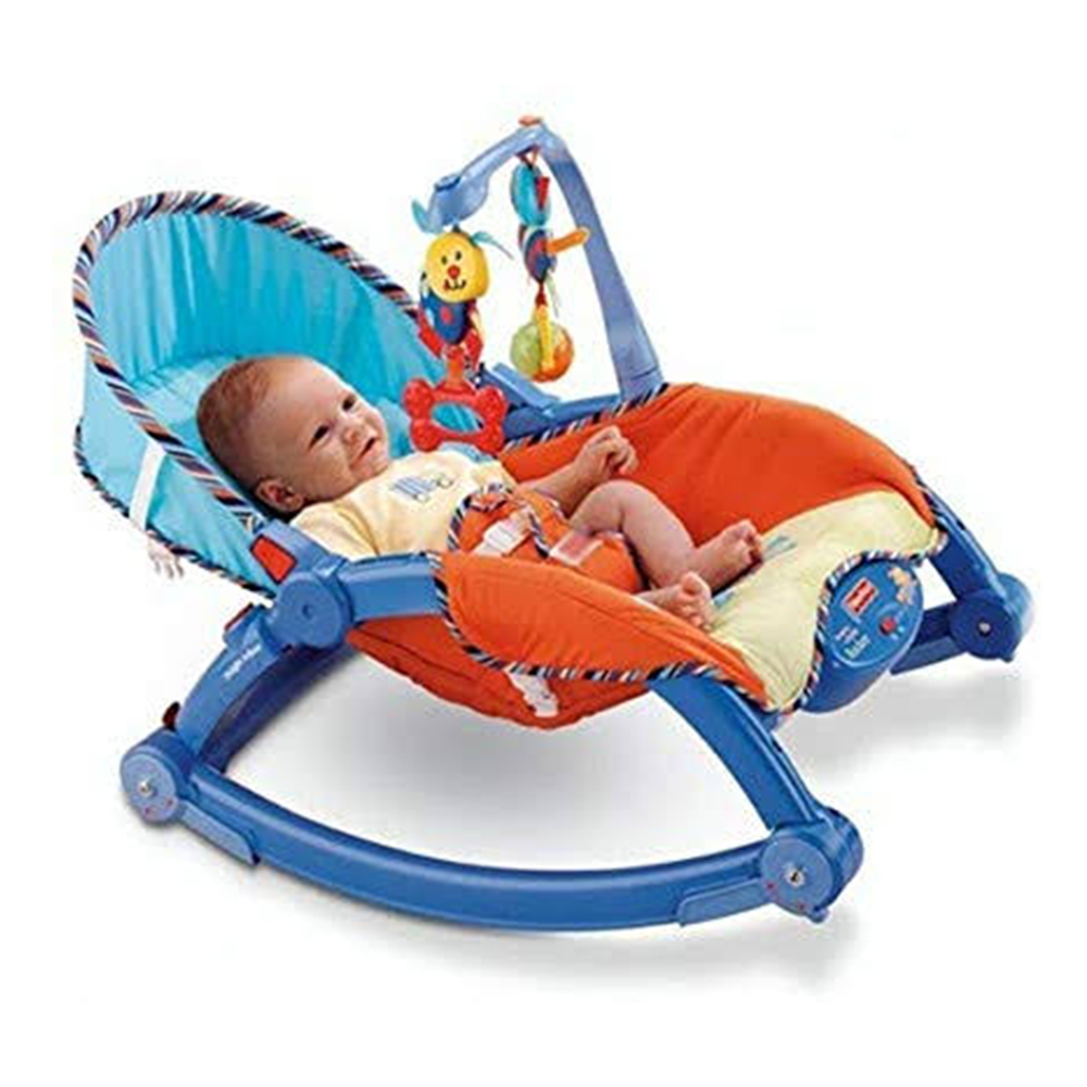 Webby Newborn to Toddler Portable Baby Rocker