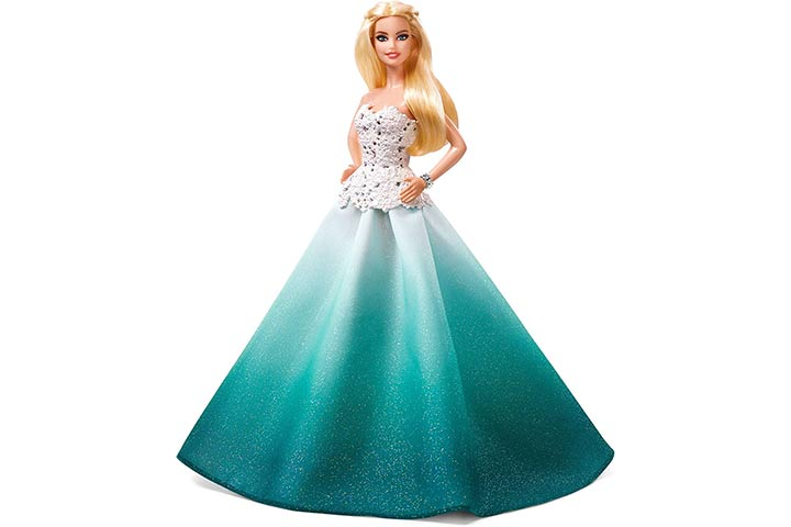 13. Barbie 2016 Holiday Doll
