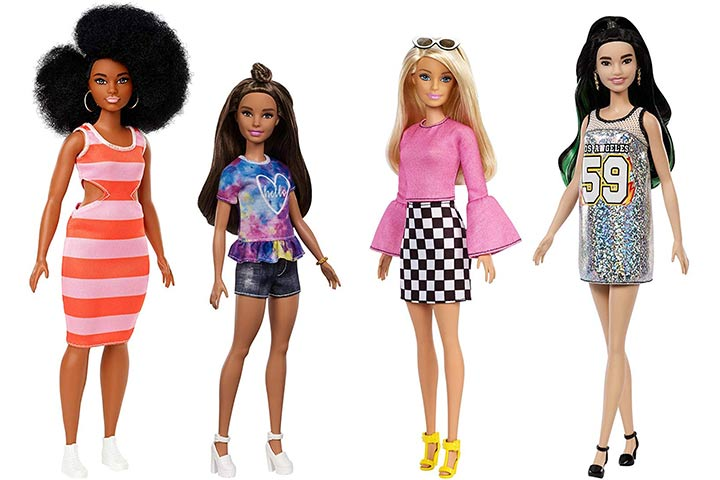 18. Barbie Fashionistas Doll and Fashions