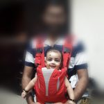 Babyhug Cuddle Up 3 Way Baby Carrier With Padded Lumbar Strap-Carry the cutie-By devika.arangath
