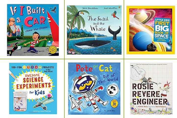 21 Best Science Books To Buy For Kids In 2019.