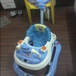 Babyhug First Walk Musical Walker With Parent Push Handle-Good quality product-By lov_anu
