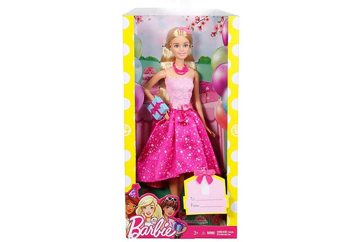 3. Barbie Happy Birthday Doll