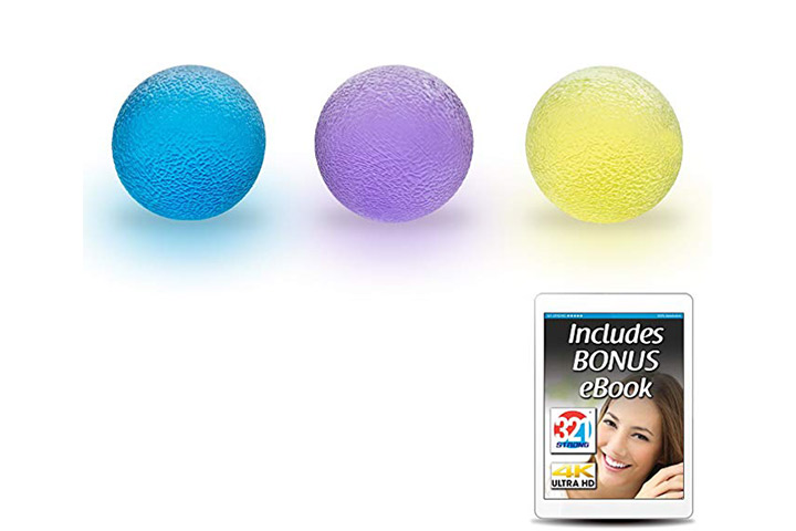 321 STRONG Hand Therapy Grip Balls