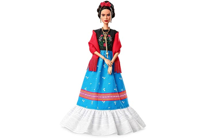 4. Barbie Inspiring Women Frida Kahlo Doll