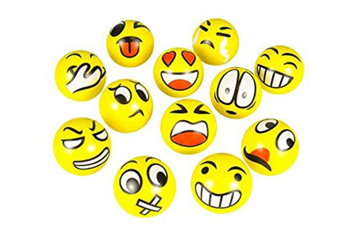 Big Mo's Toys Emoji Stress Balls