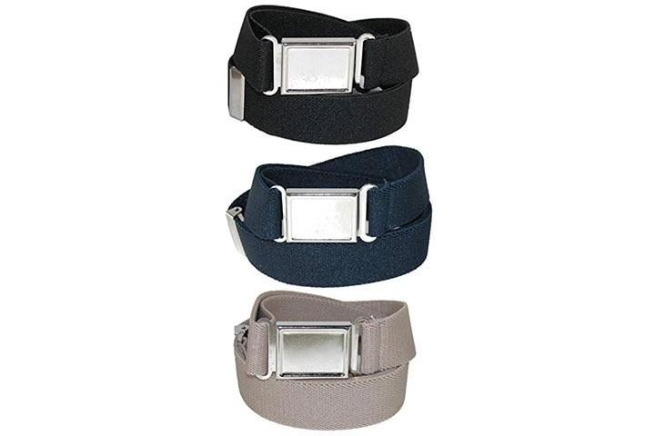 CTM Kids' Elastic Adjustable Belt