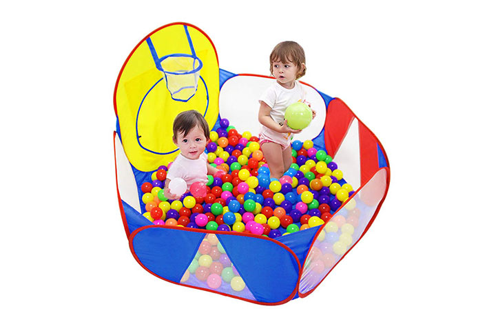 Eocol Kids Ball Pit Large Pop-Up Ball Pit Tent for Toddlers