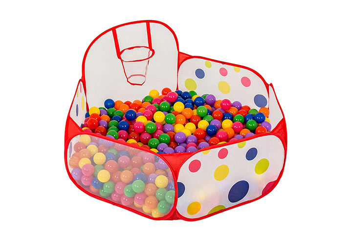 FoxPrint Basketball Ball Pit