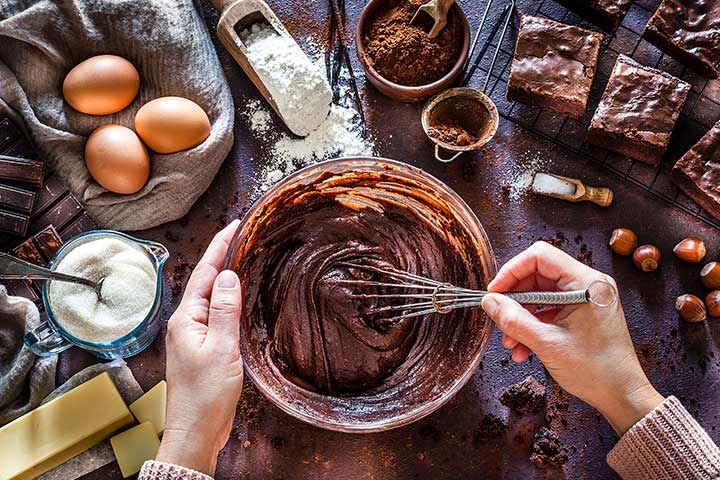 How To Make The Brownie Layer