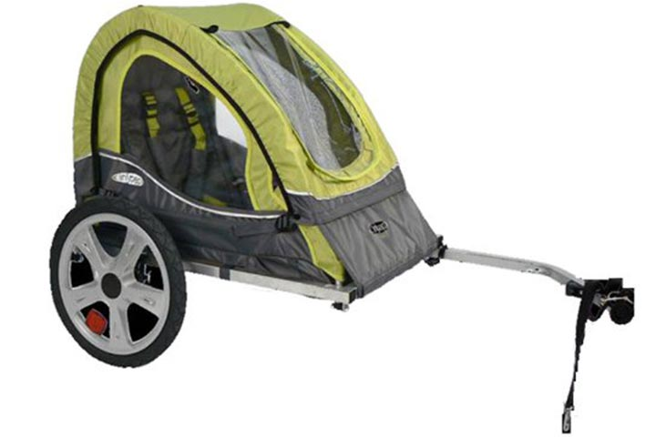 InStep Single Seat and Double Seat Foldable Tow Behind Bike Trailers