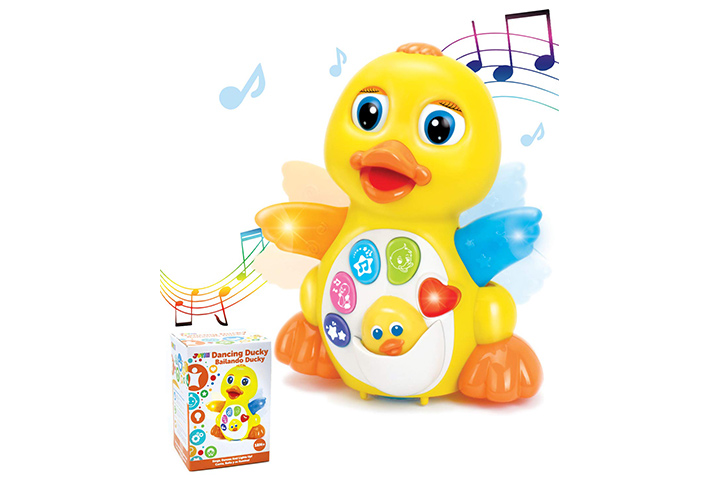 JOYIN Dancing Walking Yellow Duck Baby Toy