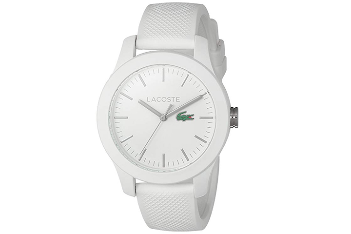 Lacoste Quartz Resin and Silicone Watch