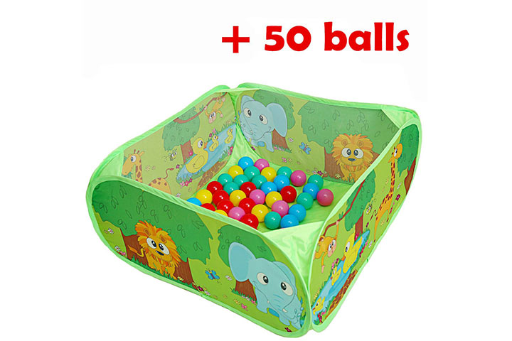 PLAY 10 Ball Pit Comes Together with 50 Balls