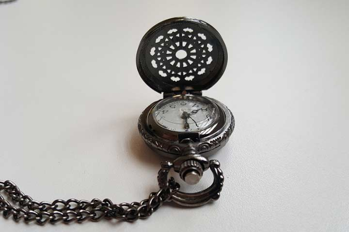 Platinum pocket watch