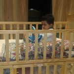 Babyhug Kelly Wooden Cot With Detachable Bassinet & Mosquito Net-Must buy-By saira