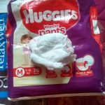 Huggies Ultra Soft Pants Medium Size Premium Diapers-Best for one year old-By vaishnavi241
