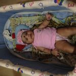 funBaby Cozy Cradle With Mosquito Net & Rocking Base-My lil one loves it-By shweta_nitesh_gurav