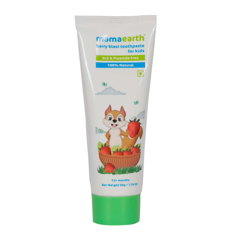 Mamaearth Berry Blast Toothpaste For Kids-0