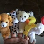 Kuhu Creations Animal Finger Puppets Pack-Great for story time-By subina_samuel