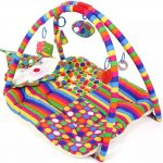 Babyhug Smiling Clown Twist N Fold Activity Play Gym-Colorful, comfortable, and attractive play gym-By nazia