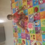 Paramount Anti Skid Double Sided Play Mat Alphabet Print-Alphabet Learning play mat-By sandhya_vino