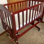 Babyhug Malmo Wooden Cot-Adjustable wooden cot-By umadevi