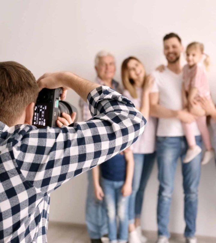 50 Beautiful Family Photo Ideas